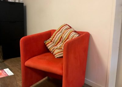 fauteuil rouge mars 19